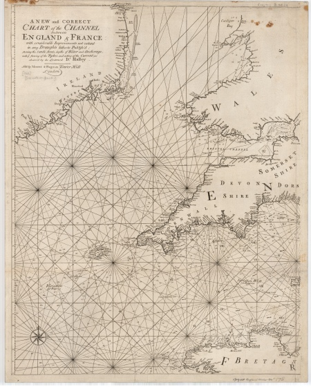 Western section of Halley's Channel Chart (© Royal Geographical Society with IBG, Image No S0015918)